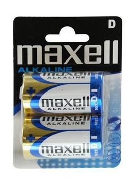 Picture of ΜΠΑΤΑΡΙΕΣ MAXELL D LR20 2ΤΕΜ  ALKALINE (λήξη 01/2021)