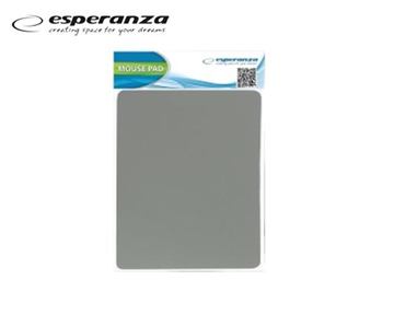 Picture of MOUSE PAD ESPERANZA 18X22cm ΓΚΡΙ ΛΕΠΤΟ 2mm ΕΑ145