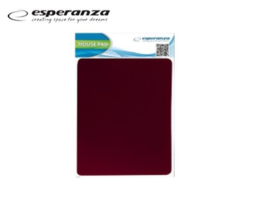 Picture of MOUSE PAD ESPERANZA 18X22cm ΚΟΚΚΙΝΟ ΛΕΠΤΟ 2mm ΕΑ145