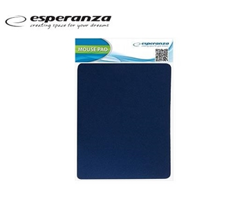 Picture of MOUSE PAD ESPERANZA 18X22cm ΜΠΛΕ ΛΕΠΤΟ 2mm ΕΑ145