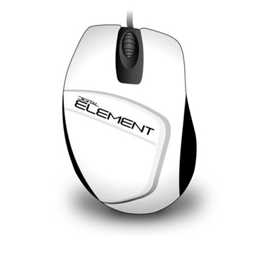 Εικόνα της ΠΟΝΤΙΚΙ ELEMENT MS-030W WHITE CABLE 1200dpι 3 BUTTONS 080427