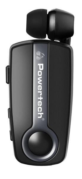 ΑΚΟΥΣΤΙΚΑ  BLUETOOTH POWERTECH PT-732, V4.1,CLIP,MULTIPOINT,DARK GRAY,100mA BATTERY
