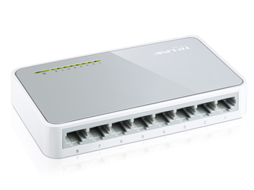 SWITCH ETHERNET TP-LINK TL-SF1008D 8 PORT  10/100Mbps GIGABYTE